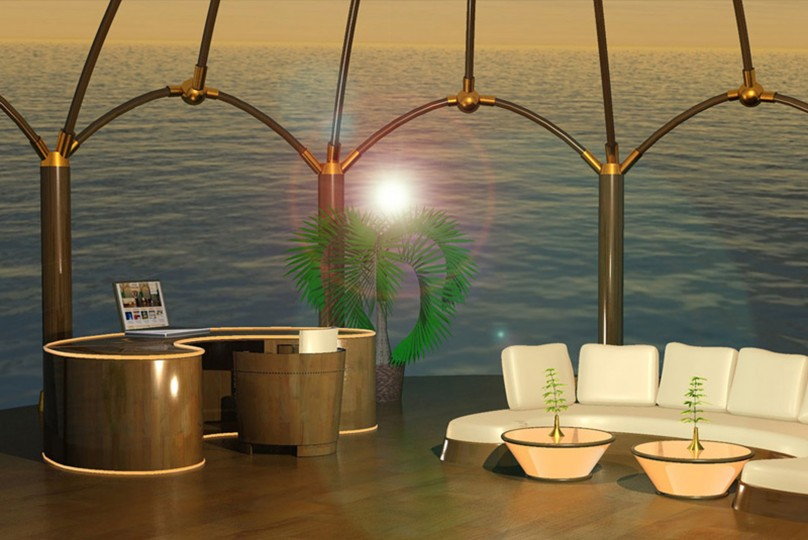 CR Media Lounge – 3D Design