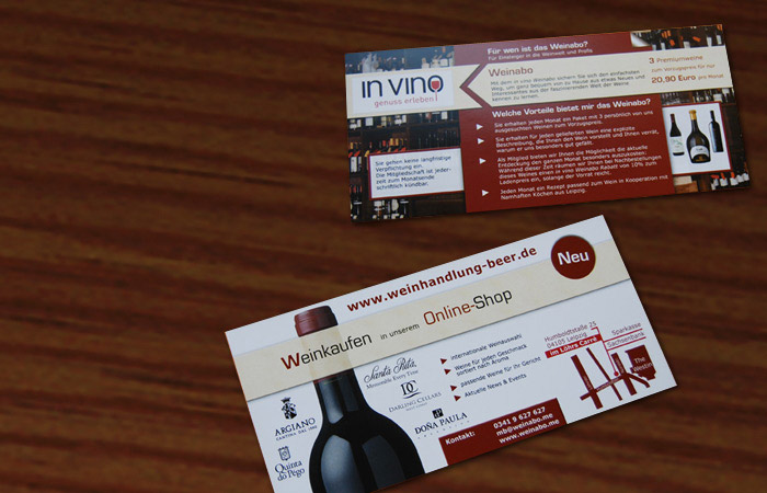 Flyer – invino