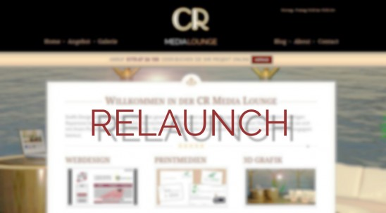 Relaunch – CR Media Lounge – Was ist neu?